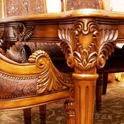 Возможность выбрать любой материал, включая массив дуба, ясеня, берёзы, а также породы ценной редкой древесины