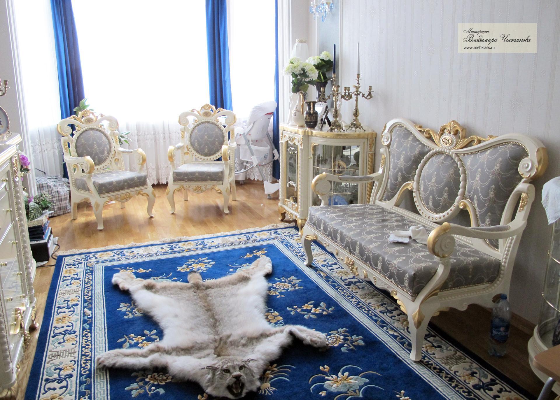 Гостиная для загородного дома или квартиры