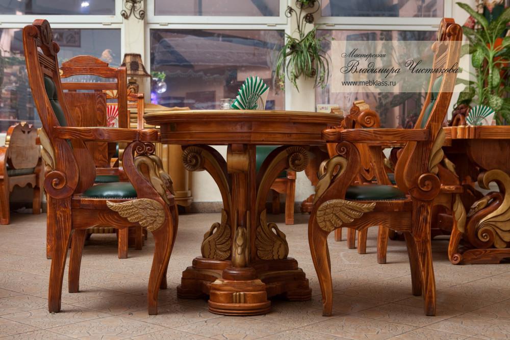 Мебель для кафе «Сели-Поели». Смоленской области, д. Ермаки